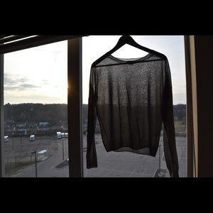 Grey theory sweater